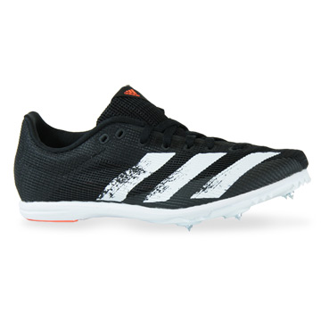 Adidas Allroundstar Junior Running Spikes (Core Black-White)