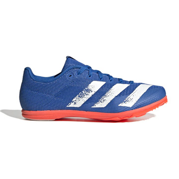 Adidas Allroundstar Junior Running Spikes (Glory Blue-Core White-Solar Red)