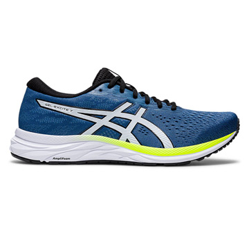 Asics Gel Excite 7 Mens Running Shoes (Grand Shark-Black)