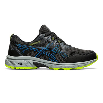 Asics Gel Venture 8 Mens Running Shoes (Black-Directoire Blue)