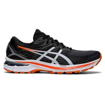 Asics GT-2000 9 Wide Mens Running Shoes (Black/White)