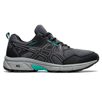 Asics Gel Venture 8 Womens Running Shoes (Black/Sheet Rock)