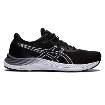 Asics Gel Excite 8 Womens Running Shoes (Black/White)