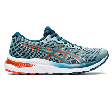 Asics Gel Cumulus GS Junior Running Shoes (Light Steel-Magnetic Blue)