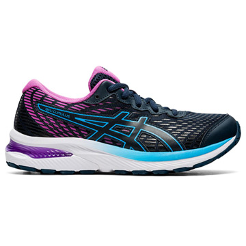 Asics Gel Cumulus 22 GS Junior Running Shoes (French Blue/Digital Grape)