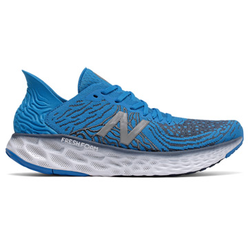 New Balance Fresh Foam M1080 v10 (2E Width) Mens Running Shoes (Vision Blue-Vintage Indigo)