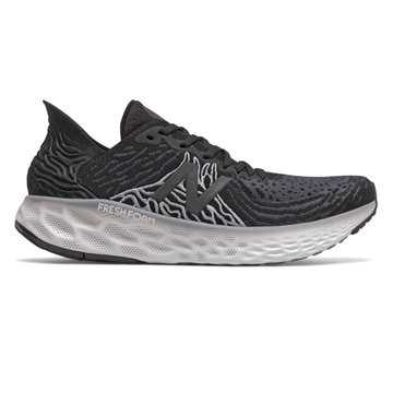 New Balance Fresh Foam M1080 v10 (2E Width) Mens Running Shoes (Black-Steel)