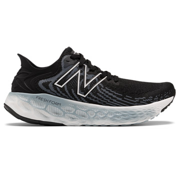 New Balance Fresh Foam W1080 v11 (D Width) Womens Running Shoes (Black/Thunder)