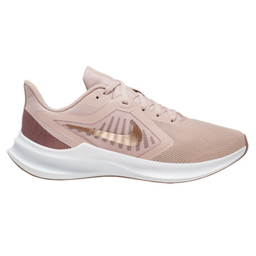 Nike Downshifter 10 Womens Running Shoes (Stone Mauve-Metallic Red Bronze-Smokey Mauve)