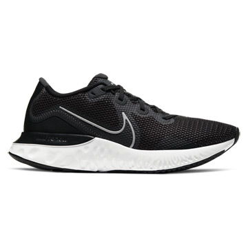 Nike Renew Run Mens Running Shoes (Black-Metallic Silver-White)