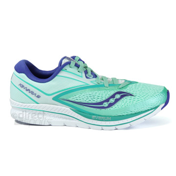 Saucony Kinvara 9 Womens Running Shoes (Aqua-White)