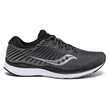Saucony Guide 13 Womens Running Shoes (Black/White)