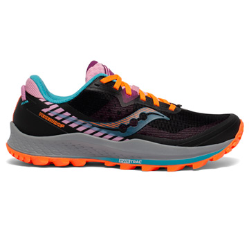 Saucony Peregrine 11 Womens Running Shoes (Future Black)