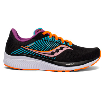 Saucony Guide 14 Womens Running Shoes (Future Black)