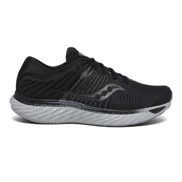 Saucony Triumph 17 Mens Running Shoes (Blackout)