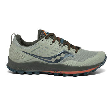 Saucony Peregrine 10 Mens Running Shoes (Pine)
