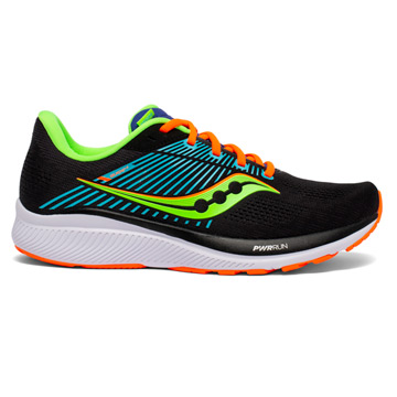 Saucony Guide 14 Mens Running Shoes (Future Black)