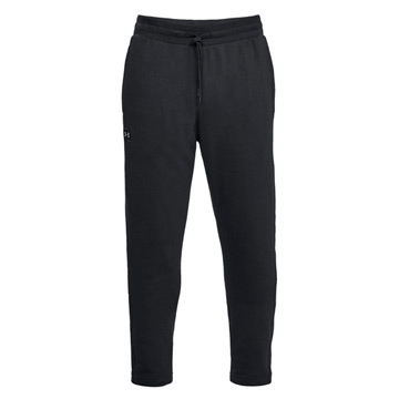 Under Armour Rival Fleece Mens Pant (Black-Black)