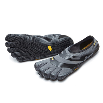 Vibram FiveFingers EL-X Mens Running Shoes (Grey-Black)