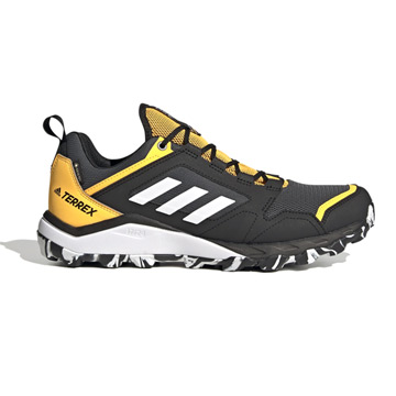 Adidas Terrex Agravic TR Gore-Tex Mens Trail Running Shoes (Grey/Solar Gold)