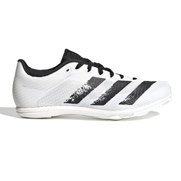 Adidas Allroundstar Junior Running Spikes (Crystal White)
